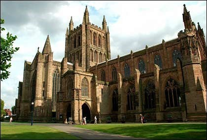 hereford cathedral building