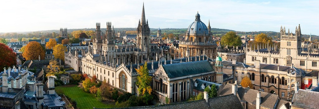 oxford university building skyline
