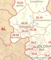 rochdale map of areas we buy with estate agents