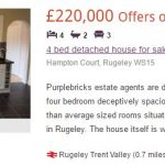 Zoopla Properties for sale results to calculate a properties valuation