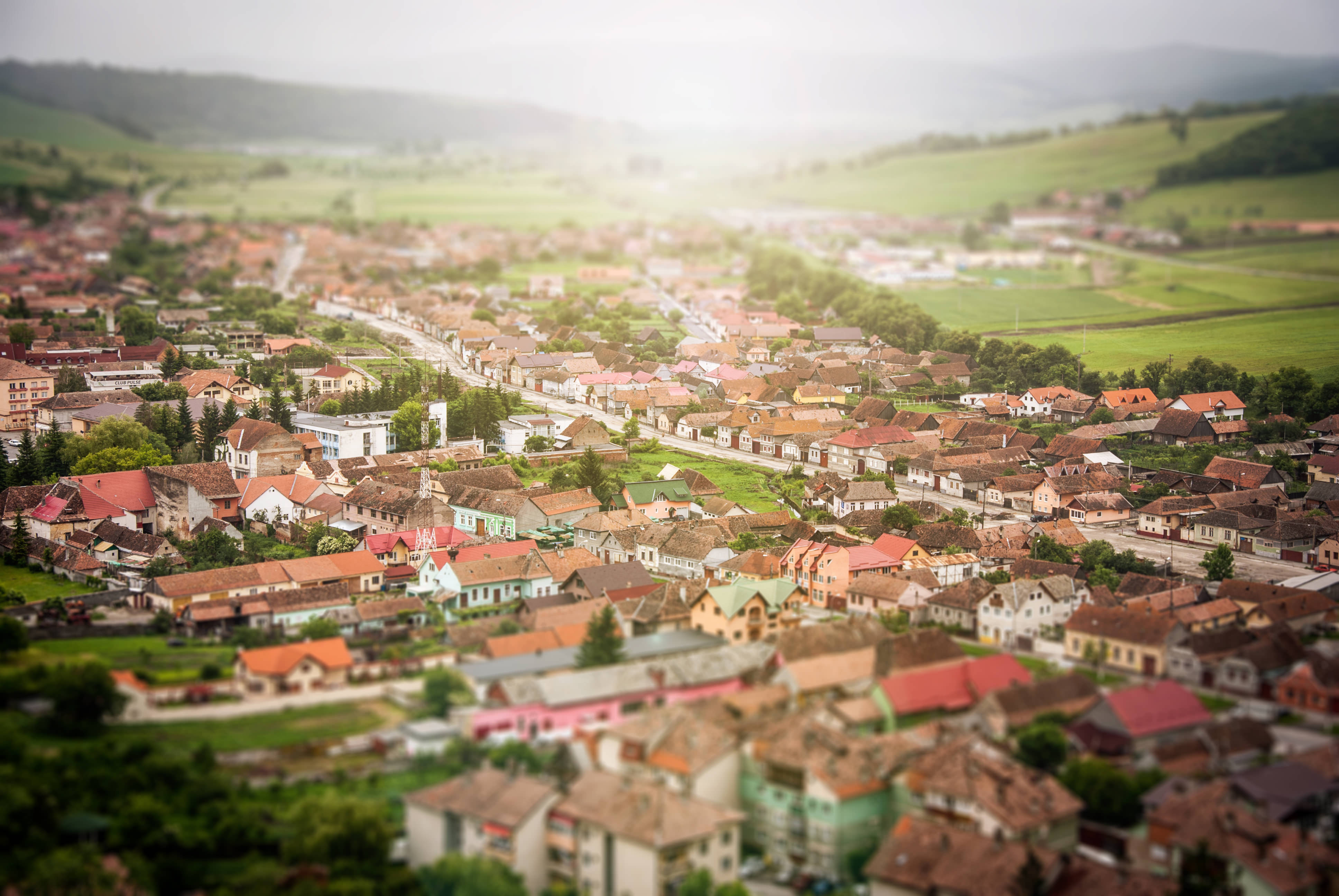 village full of properties for sale looking to move home